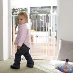 Das Geuther Kindermöbel 4791 als Treppenschutzgitter ohne bohren